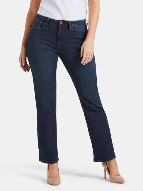 Curve Embracer Bootcut Jeans Midnight Blue