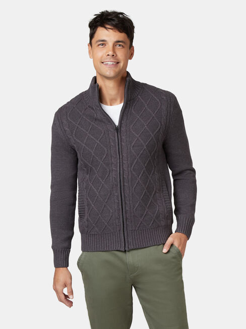 Theodore Sherpa Lined Cable Jacket
