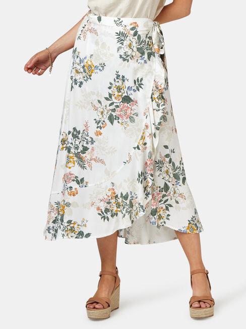 Chloe Midi Wrap Skirt