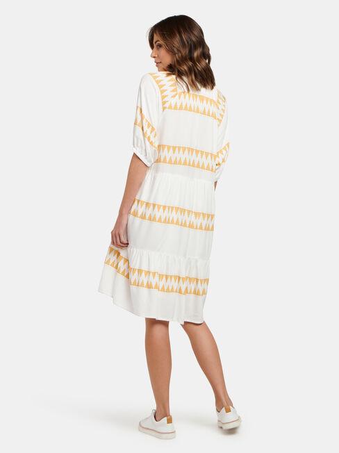 Jasmine Babydoll Dress, Stripe, hi-res