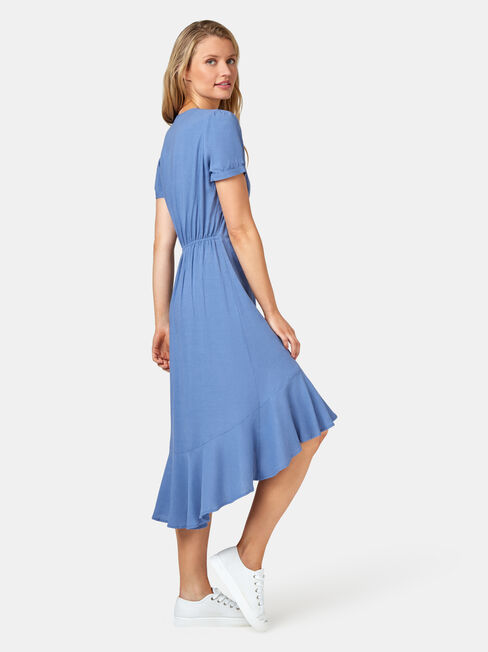 Sadie Concave Dress, Blue, hi-res