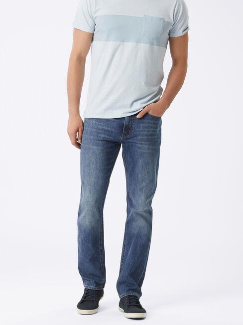 Straight Jeans Antique Indigo