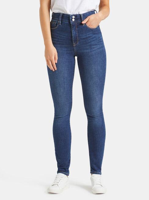 Tummy Trimmer Skinny Jeans True Vintage