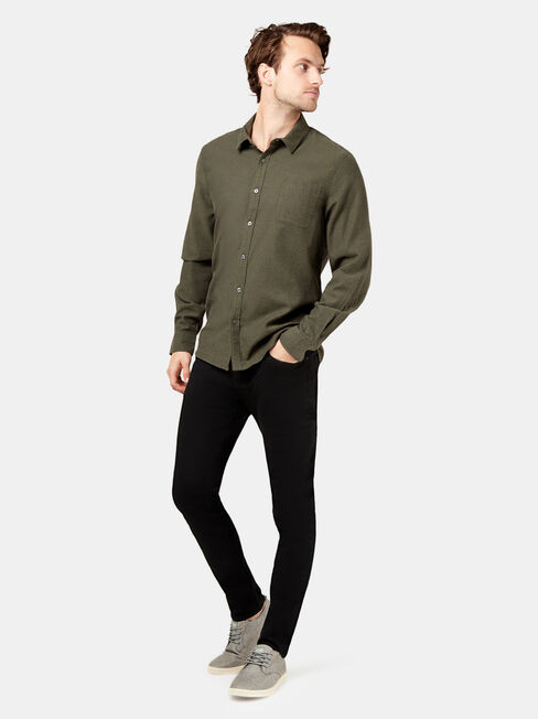Oliver Long Sleeve Shirt, Green, hi-res