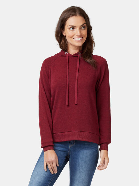 Khloe Soft Touch Hoodie, Pink, hi-res