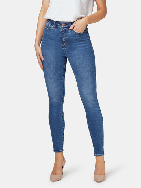 Ellie High Waisted Skinny 7/8 jeans