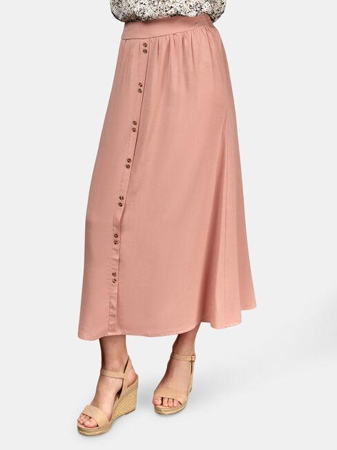 Gabriella Soft Skirt, Pink, hi-res