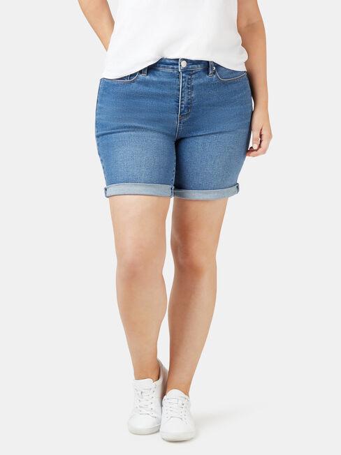 Sophia Curve Embracer Bermuda Short