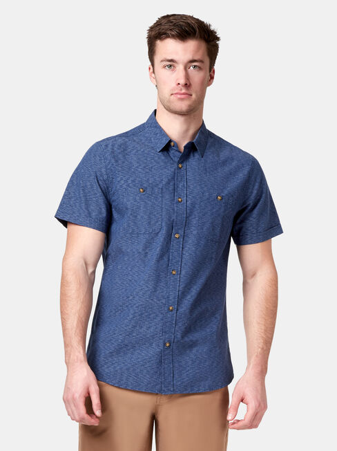 Gus Short Sleeve Textured Shirt