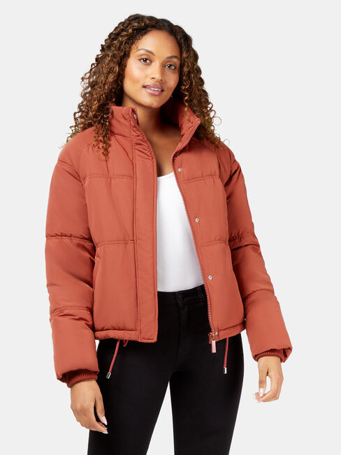 Mabel Short Puffer Jacket