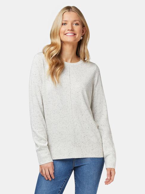 Eloise Light Weight Knit, Brown, hi-res